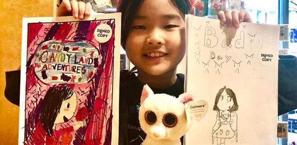 Little Girls Doing Big Things: Matilda Suh, Writer & Illustrator