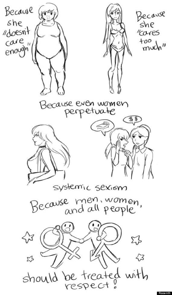 Artist Creates Comic Explaining How Sexism Affects Women
