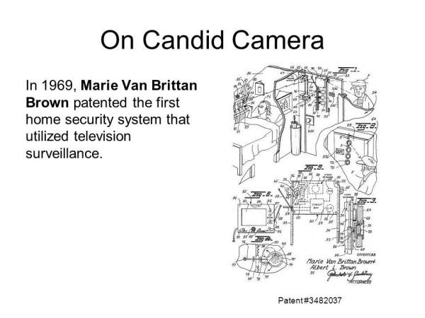 Pioneer Inventor Marie Van Brittan Brown Designed The Very