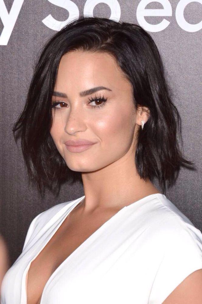 Long Side Parting Hairstyles