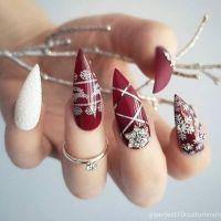 Christmas Stiletto Nails   Best Nail Designs 2018