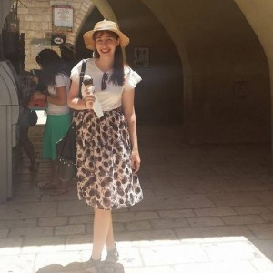 Me in Jerusalem in July 2014