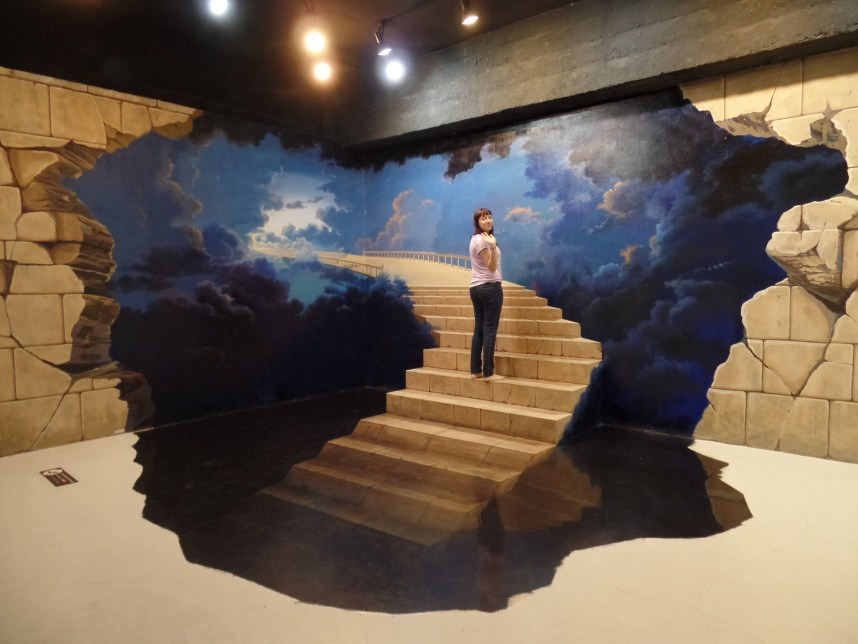 3D Art In Paradise - Stairs