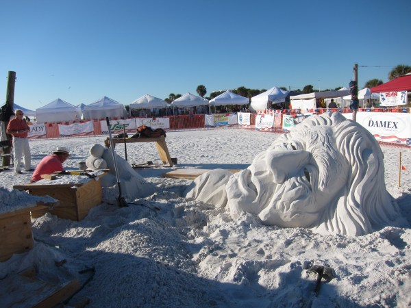 Sand Sculpting World Championships In Southwest Florida