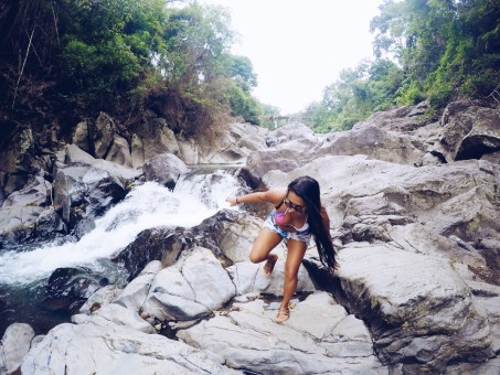 Girl, Unspotted -- Layon Bilog River