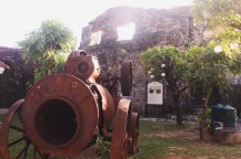 Girl, Unspotted -- Intramuros, Manila