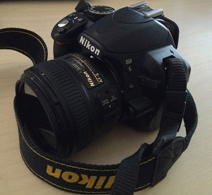 My Nikon D3100