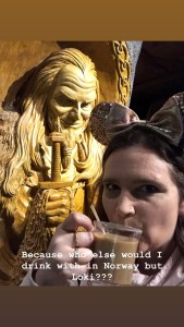 Viking coffee and Loki