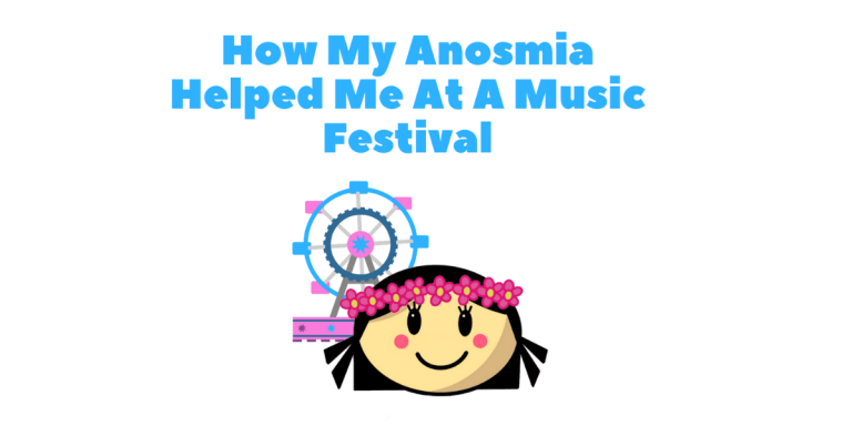 Anosmia and A Music Festival Picture