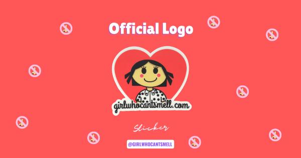 Anosmia Official Logo Girl Who Cant Smell
