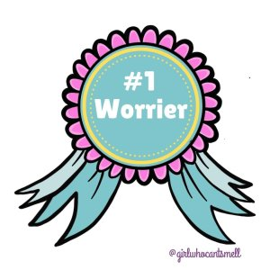 Number one worrier ribbon The Girl Who Cant Smell