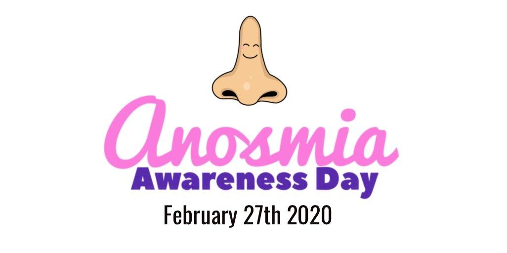 Anosmia Awareness Day 2020 Banner