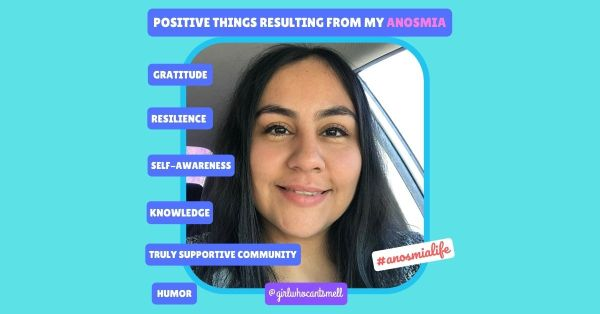 Positive things resulting from anosmia