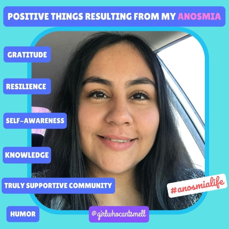 Positive Things Resulting From My Anosmia