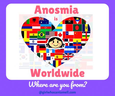 Anosmia is Worldwide