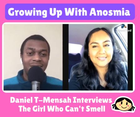 Daniel T Mensah Anosmia Interview