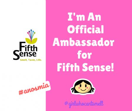 Fifth Sense UK Ambassador Anosmia Facebook