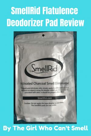 SmellRid Flatulence Deodorizer Pad Review