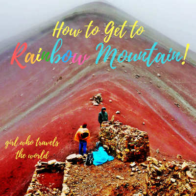 How to get to Rainbow Mountain!