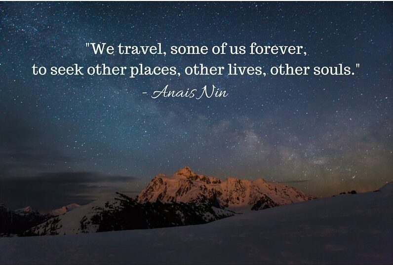 Anais Nin Quote, Great Travel Quotes