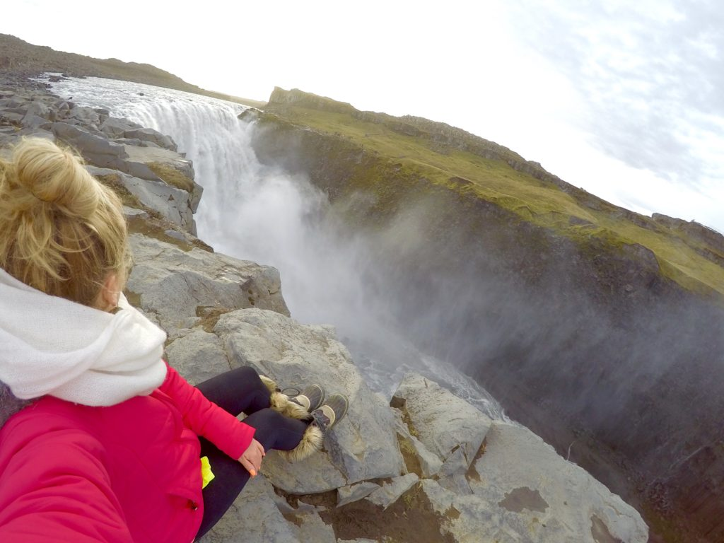 Top 5 Best Waterfalls in Iceland, Detifoss Waterfall, Girl Who Travels the World