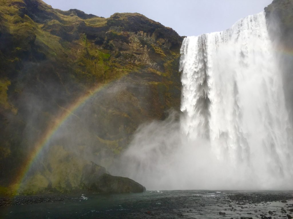 Top 5 Best Waterfalls in Iceland, Skogafoss Waterfall, Girl Who Travels the World