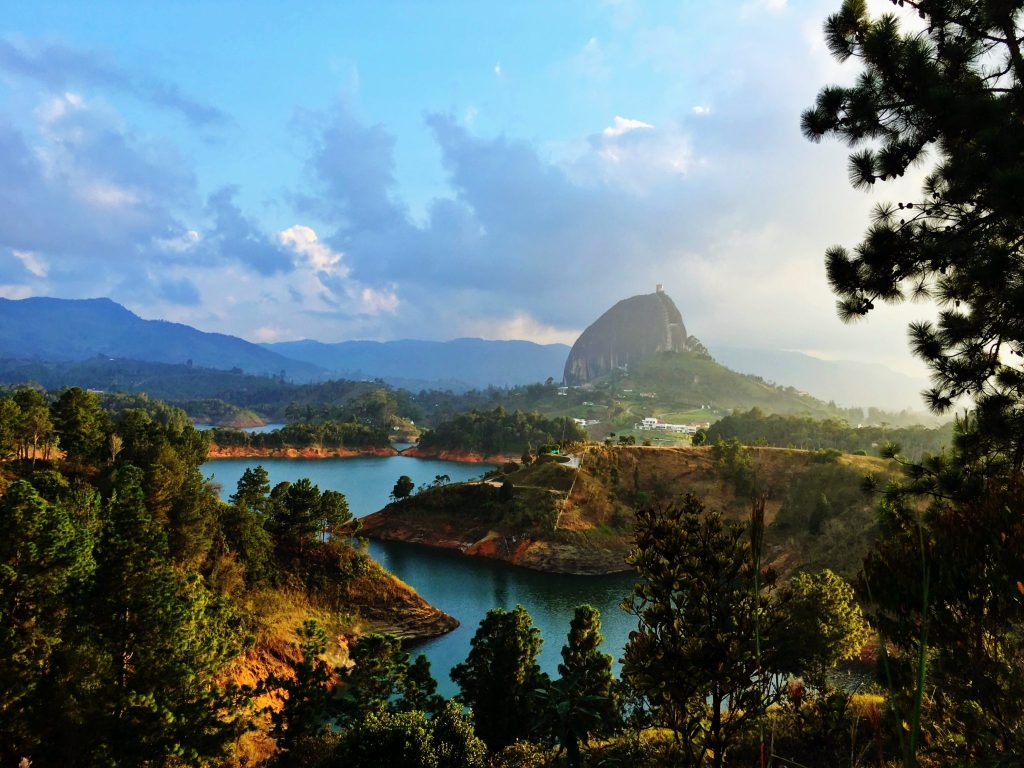 Guatape, Colombia, On the Road to Medellin
