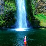 Great Hikes in the Columbia Gorge, Horsetail Falls, Girl Who Travels the World