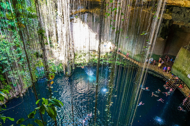 Best Cenotes Yucatan, Cenote Ik-Kil