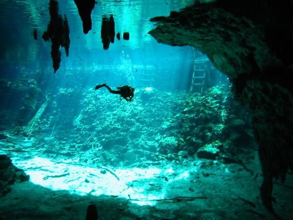 Best Cenotes Yucatan, Gran Cenote Underwater