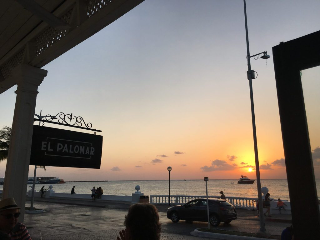 Best Cozumel Sunsets, Sunset at El Palomar
