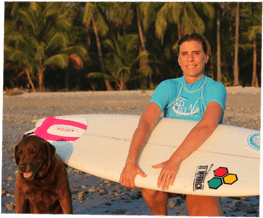 Why Surf Camp is Perfect for Solo Travel, Tierza Eichner, Pura Vida Founder, Girl Who Travels the World