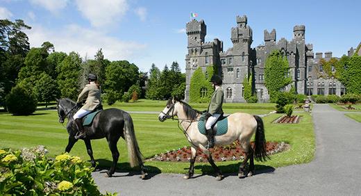Ashford Castle, Horseback Riding