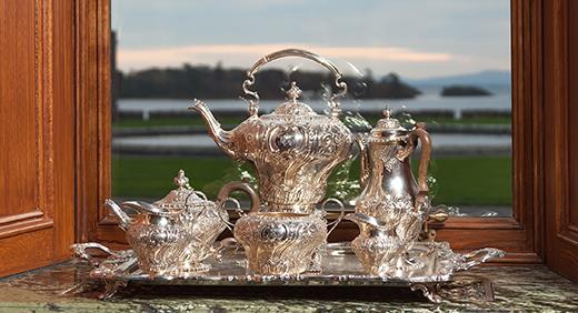 Ashford Castle, Tea Set