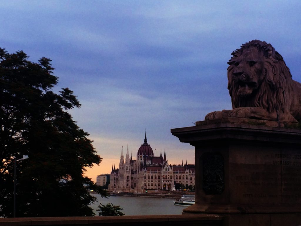 Fairy Tale Castles of Budapest, Chain Bridge View