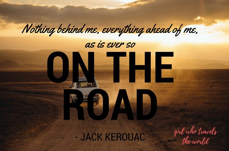 Kerouac Quote, Great Travel Quotes