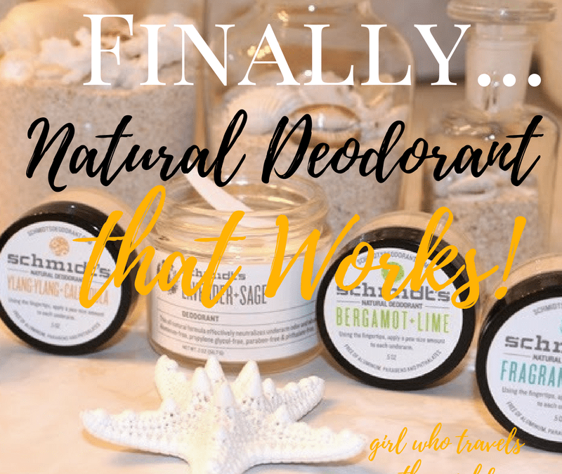 Finally…A Natural Deodorant That Actually Works!