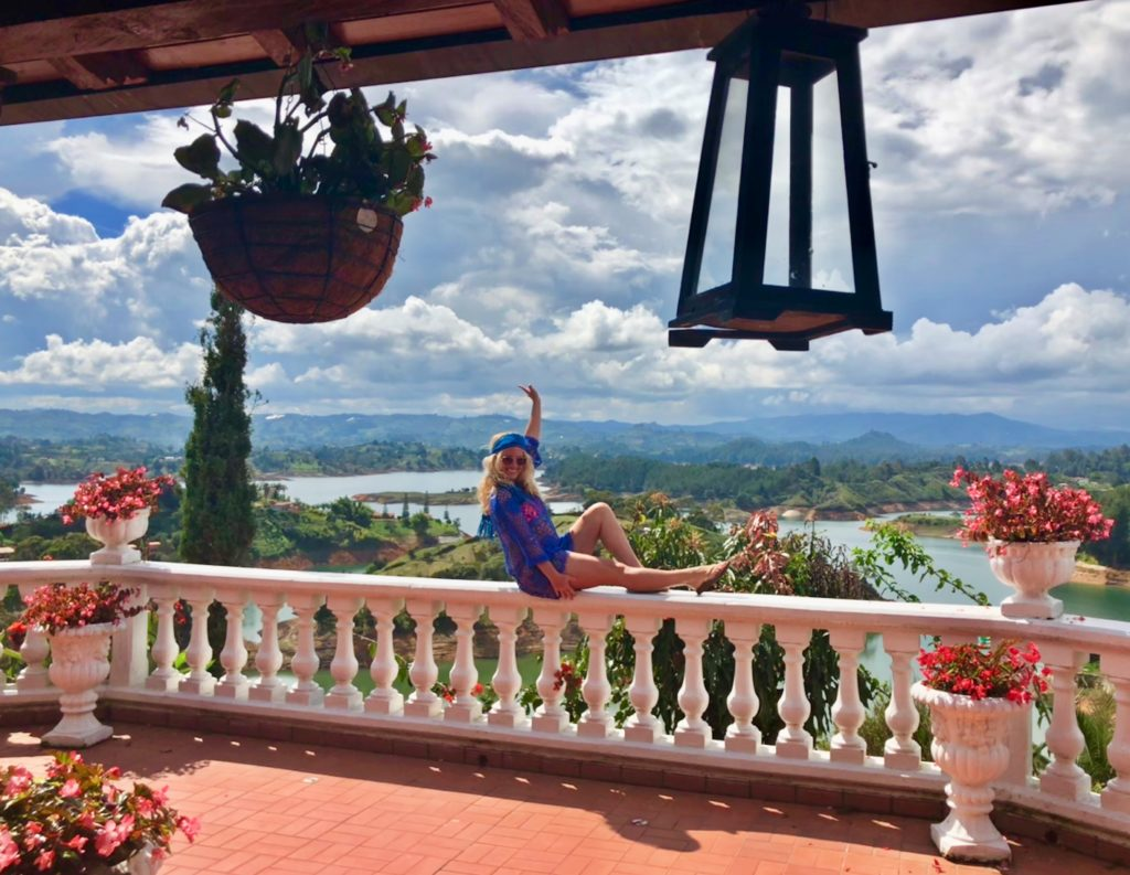 Pissing Over Medellin, Travel Guide for Guatape in Colombia, Girl Who Travels the World