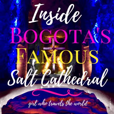 Inside Bogota's Famous Salt Cathedral ~ Video!