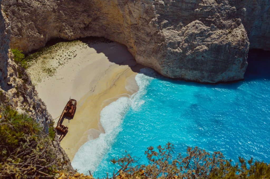 Photos to Inspire Your Greek Islands Trip, Girl Who Travels the World, Shipwreck Beach