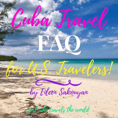 Cuba Travel FAQ for U.S. Travelers!