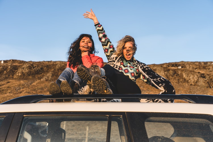 How to Sleep in Your Car on a Road Trip, Girl Who Travels the World, Iceland Girls Road Trip
