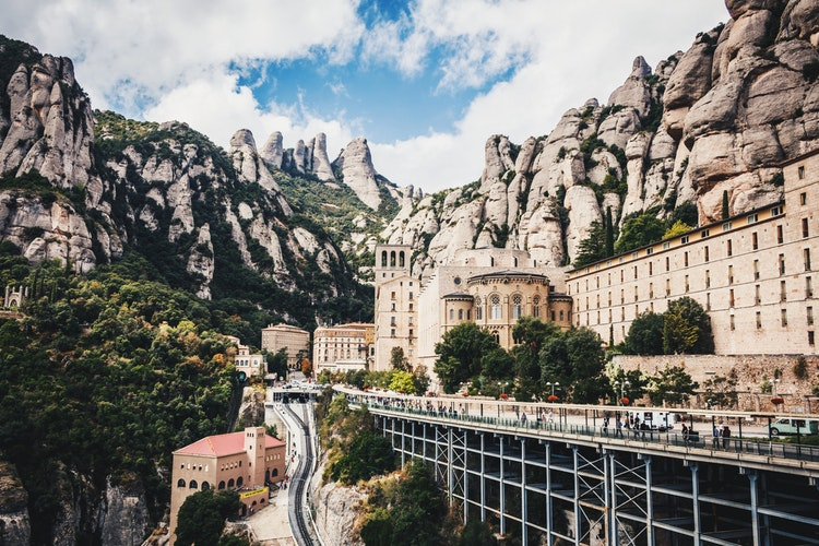 Ultimate Girl's Guide to Spain Travel, Girl Who Travels the World, Monestir de Montserrat, Spain