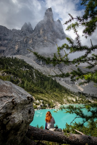 20 Photos to Inspire Your Dolomites Trip, Girl Who Travels the World, Lago di Sorapis