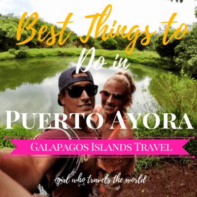 Best Things to Do in Puerto Ayora in the Galapagos Islands!