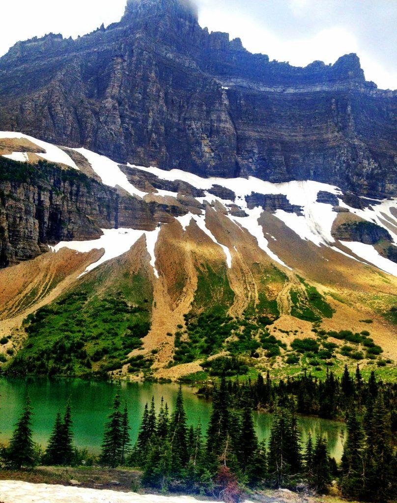 Iceberg Lake Trail in Glacier National Park - Girl Who