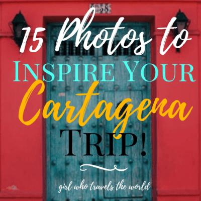 15 Photos to Inspire Your Cartagena Trip
