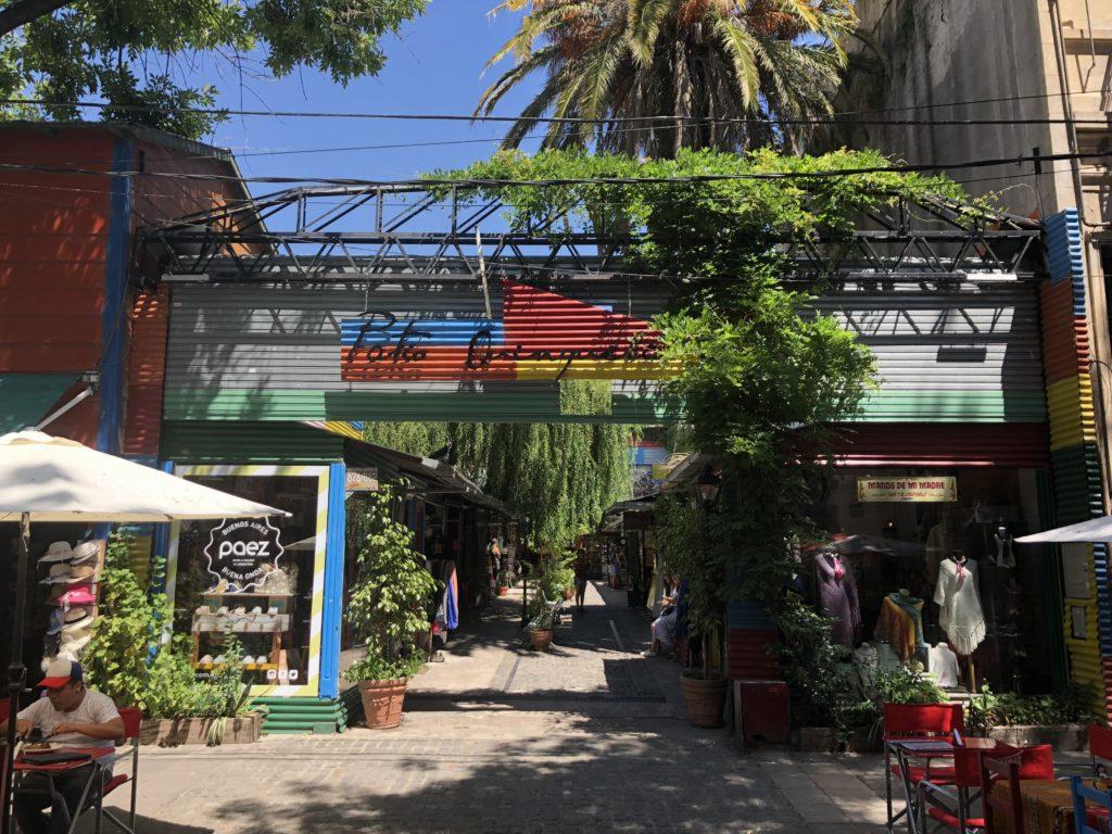 Dancing Tango in La Boca's Caminito Street, Girl Who Travels the World