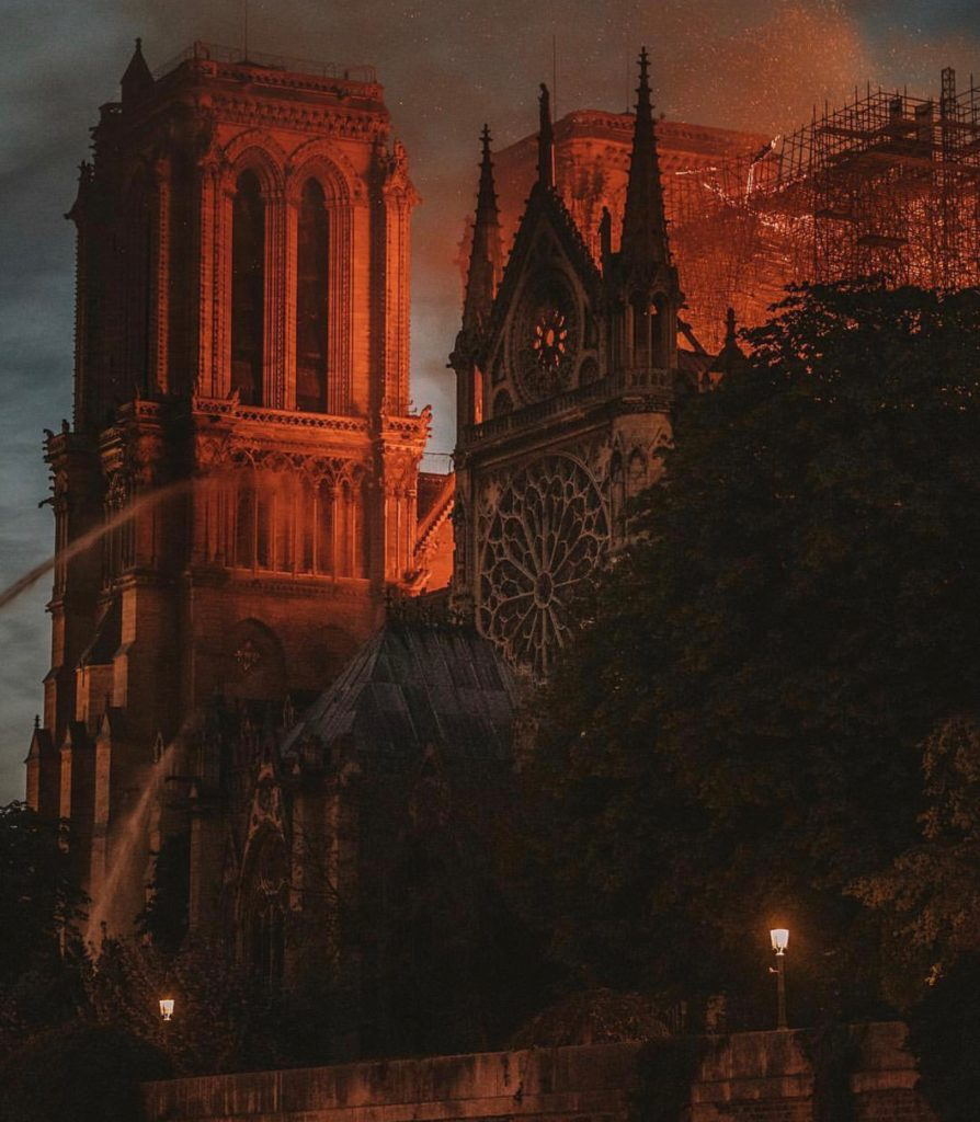 Memories of Notre Dame in Paris, Girl Who Travels the World