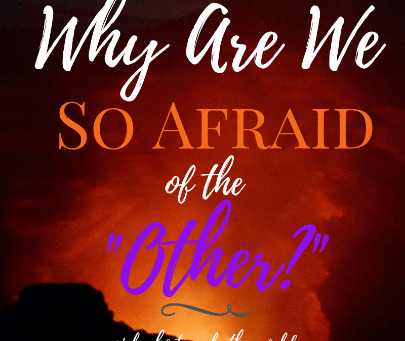 Why Are We So Afraid of the Other? Girl Who Travels the World